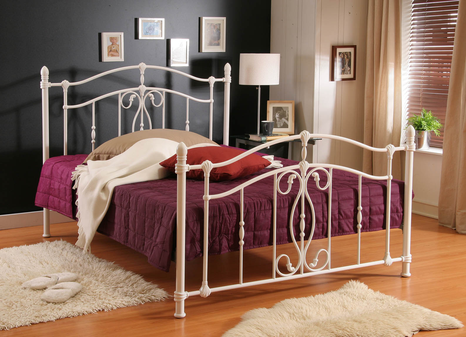 Nice White Bedsteads From