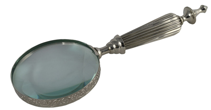 Nickel Magnifying Glass