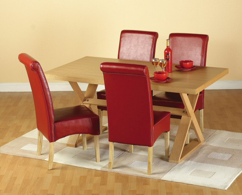 Oregon Table & 4 Chairs - Click Image to Close