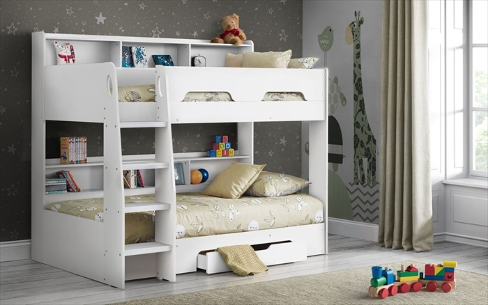 Orion Bunk Pure White Single