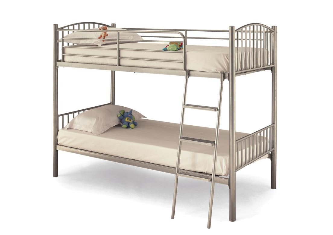 Oslo Bunk Beds Silver / White or Black