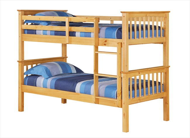 Porto Bunk Beds Pine or White From