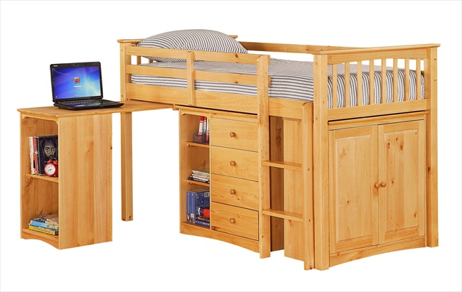 Porto Mid Sleeper (Light Antique Pine)