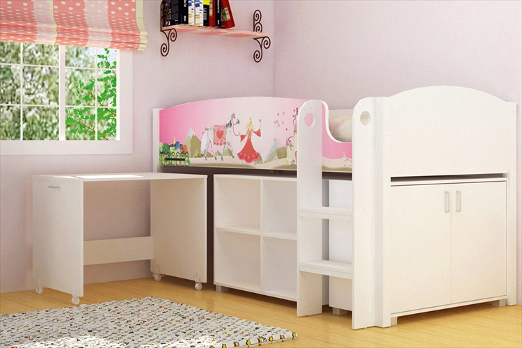 Princess study bunk