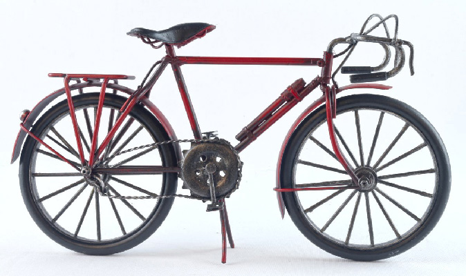 Repro Bicycle Red Frame