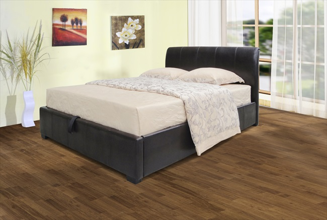 Savona Black or Brown Storage Beds From