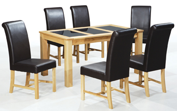 Vincent Table & 6 Chairs