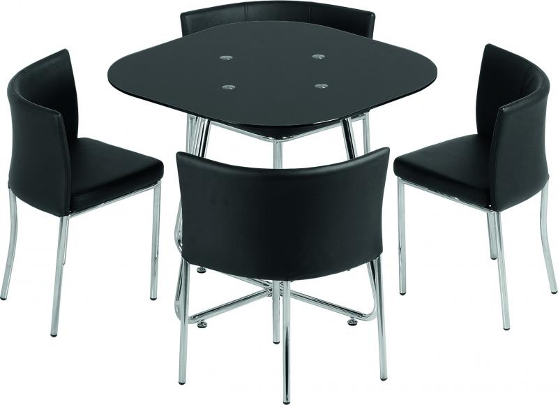 Wasington Stowaway Table & 4 Chairs