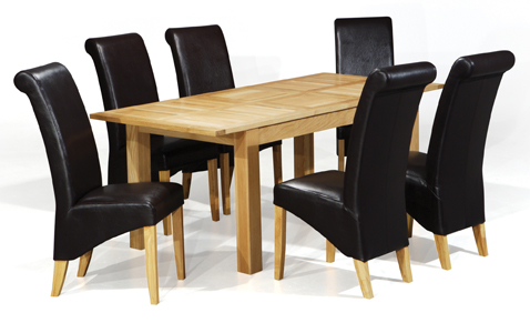 Windsor Extending Table & 6 Chairs