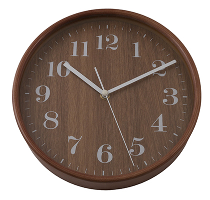 Basic Wooden Clock Small