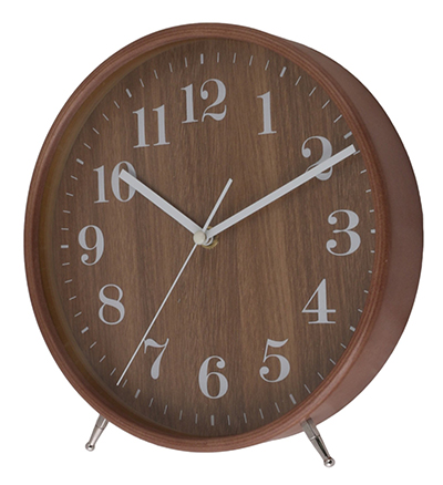 Basic Wooden Table Clock