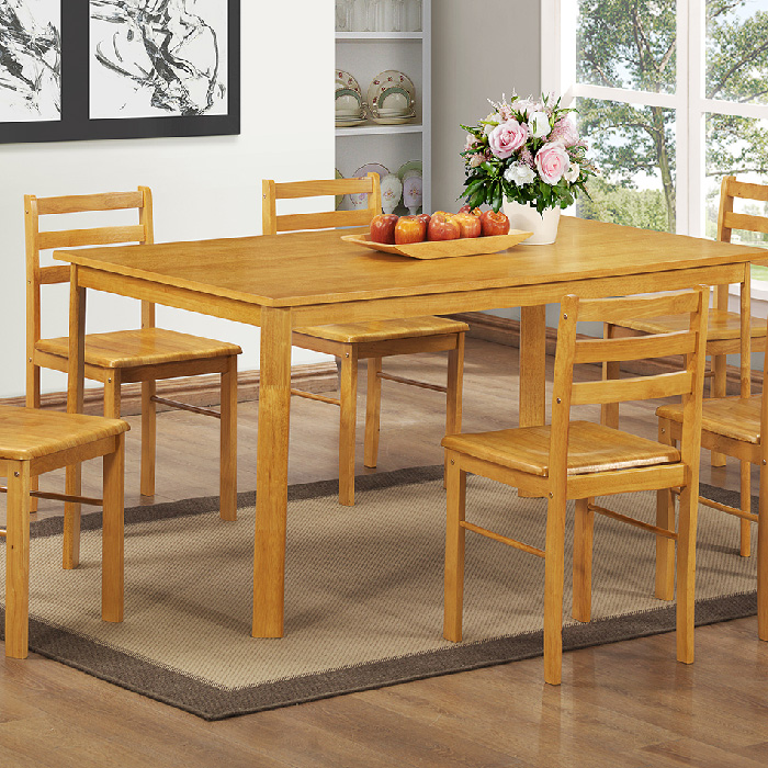 York Large Table & 6 Chairs