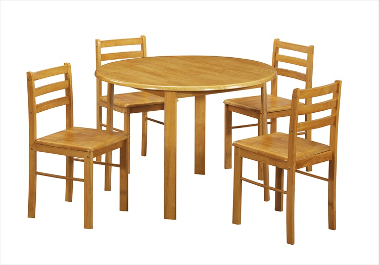 York Round Table & 4 Chairs