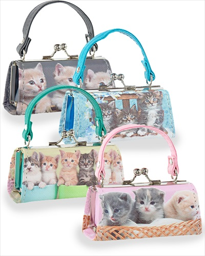 Adorably Cute Kittens Lipstick Case Assorted Colours