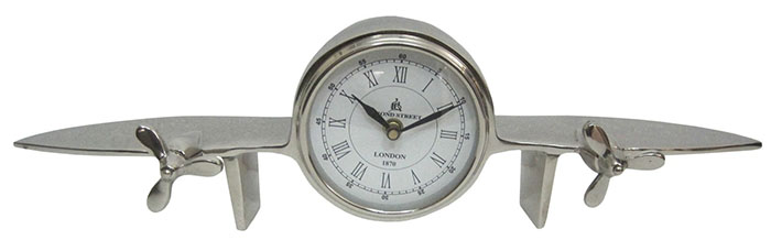 Aeroplane Design Table Clock