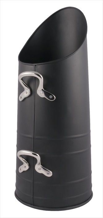 Antracite Hod (heavy handles) Black With Nickel Handles