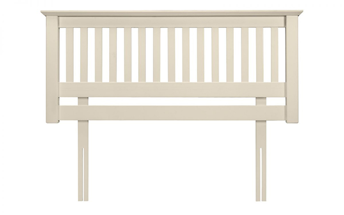 Barcelona Headboard Stone White Small