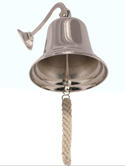"HANGING 8"" BELL"