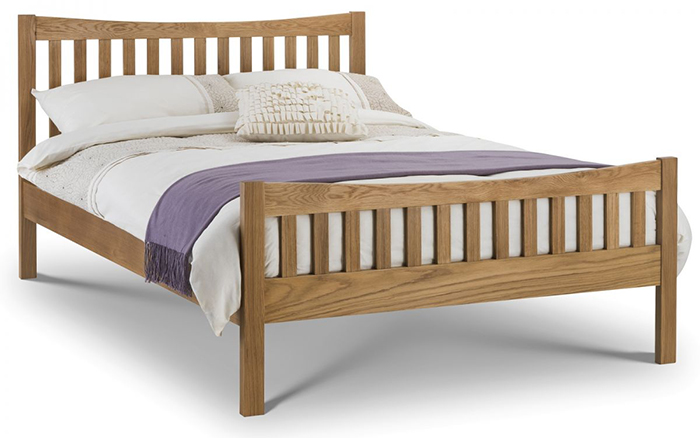 Bergamo Oak Bed Small