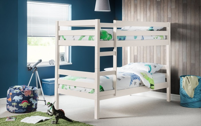 Camden Bunk Bed Surf White Single