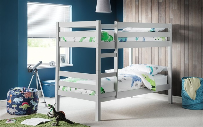 Camden Bunk Bed Dove Grey Single