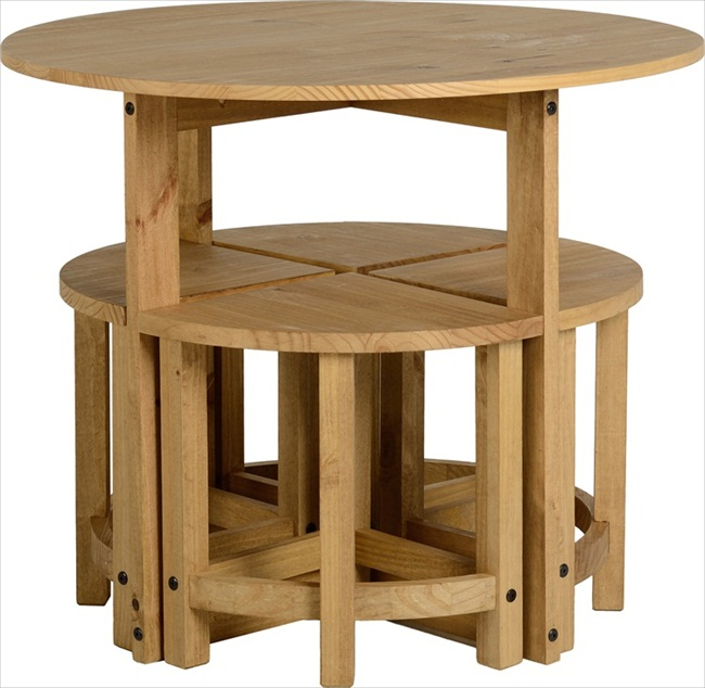 Table & stool sets (stowaways)
