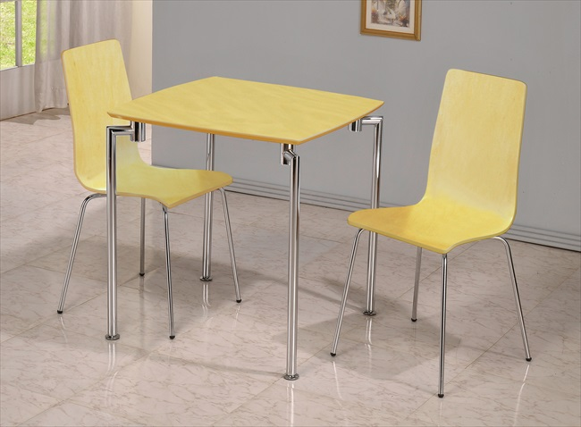 Small tables & 2 chair sets