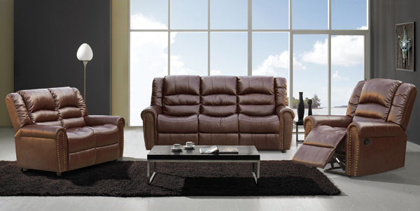 Bonded leather/leather/pu suites