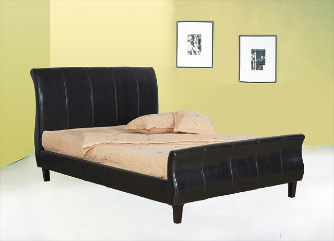 Charlton Pu Black or Brown Bedstead From