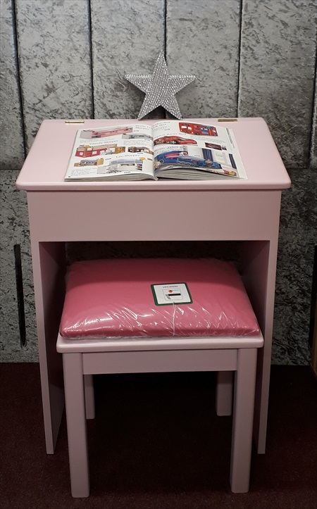 Bespoke old fashioned schools desk