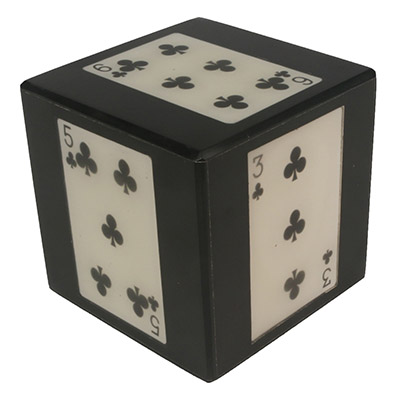 Cards Dice Paperweight