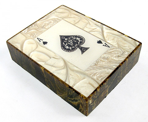 Double Card Box With Cards