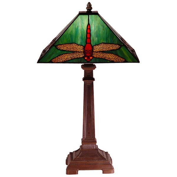Tiffany Dragon Fly Medium Table Lamp