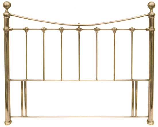 """KNIGHTSBRIDGE"" (ANTIQUE BRASS) HEADBOARD RANGE FROM"