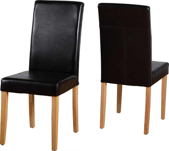 G3 Chair in Brown Faux Leather