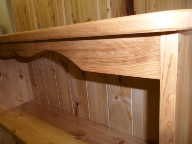 """T B S"" Solid Pine Made To Measure Bookcases From"