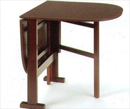 Small Radius Top Gateleg Table