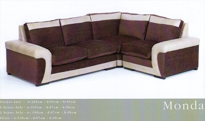 Monda Range or Corner Suites /Sofa/Chairs From
