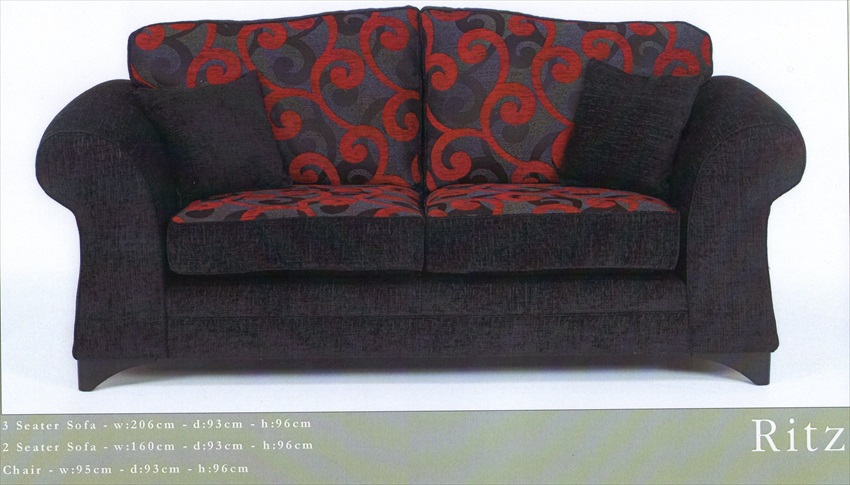 Ritz Range of Chairs / Sofa's From