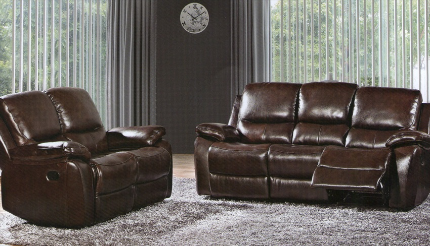 Ivana Range Thick Aniline Leather Recliner Chairs & Sofa's From