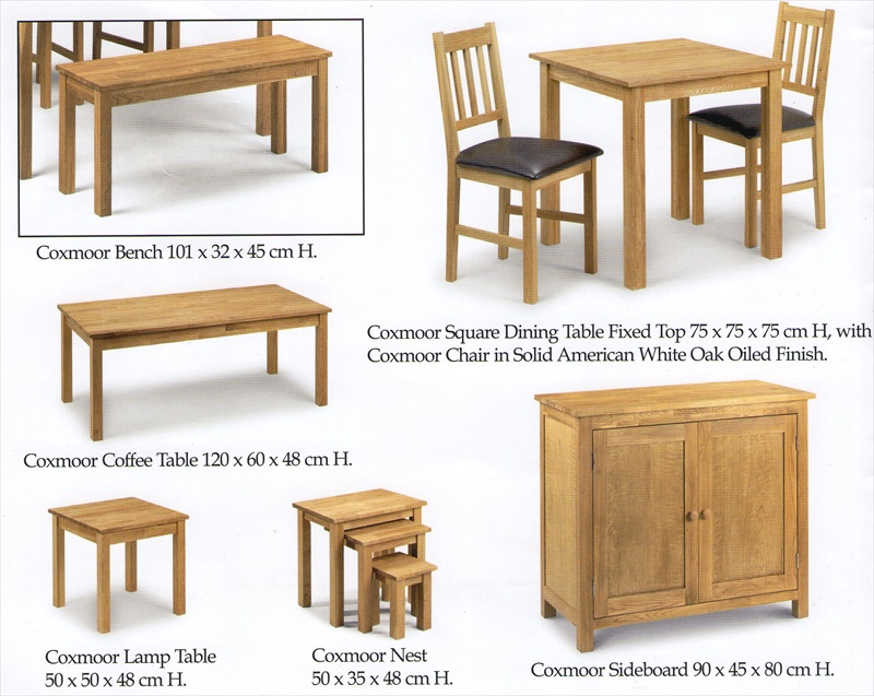 Coxmoor Solid American White Oak Range From