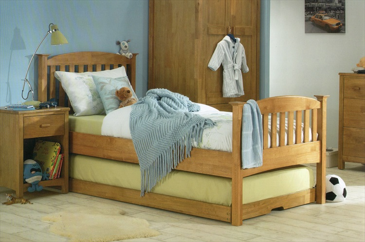 Eleanor Hevea Wood Quality Guest Bed
