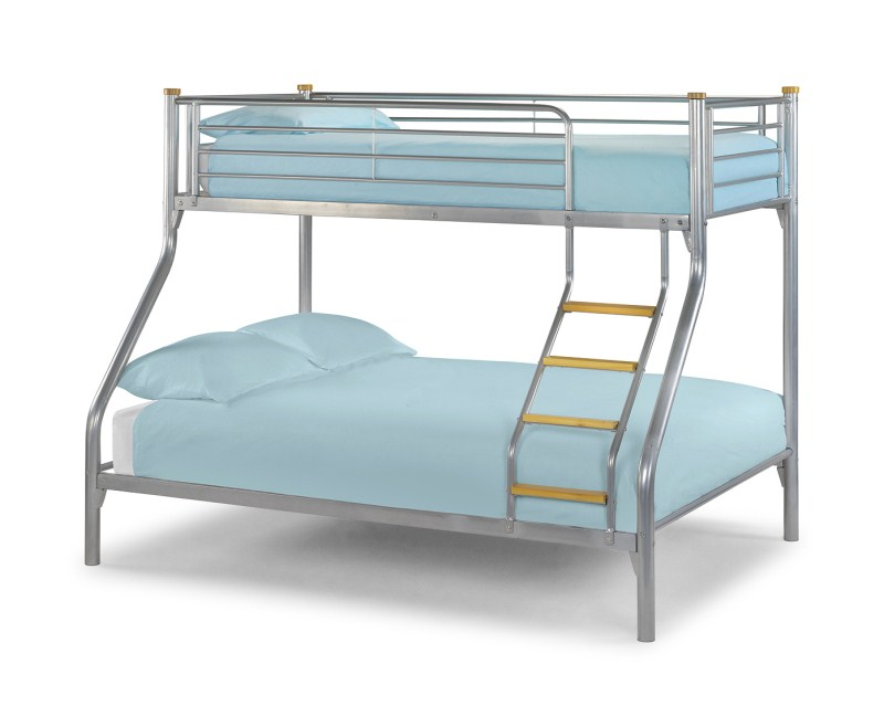 Alas Triple Sleeper Bunk (Silver)
