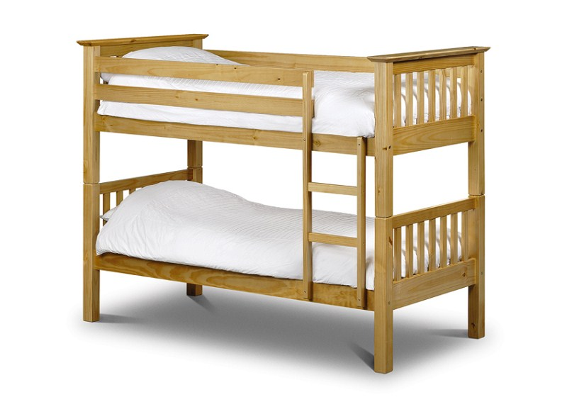 Barcelona White or Pine Quality Bunk Beds