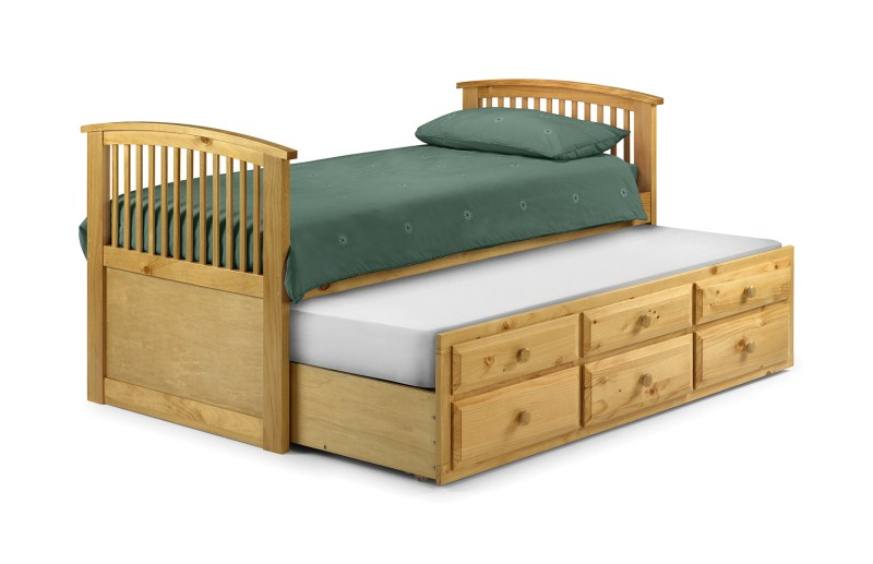 Hornblower Pine Cabin Bed with Drawers