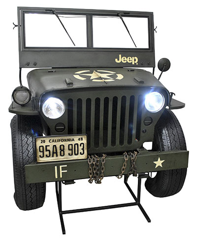 Jeep Storage Box With Lights