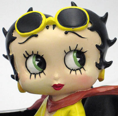 "BETTY BOOP ""IN SPORTS CAR"""