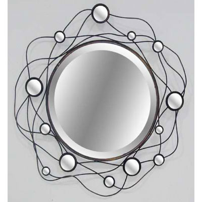 """ROUND MIRROR"" WALL ART DESIGN"