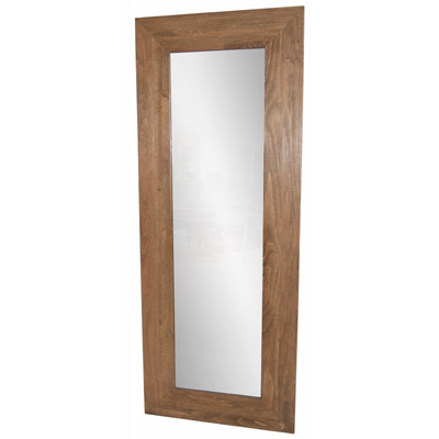 HEMLOCK WOOD TALL WALL MIRROR
