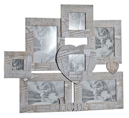 Journal 7 Multi Wall Photo Frames
